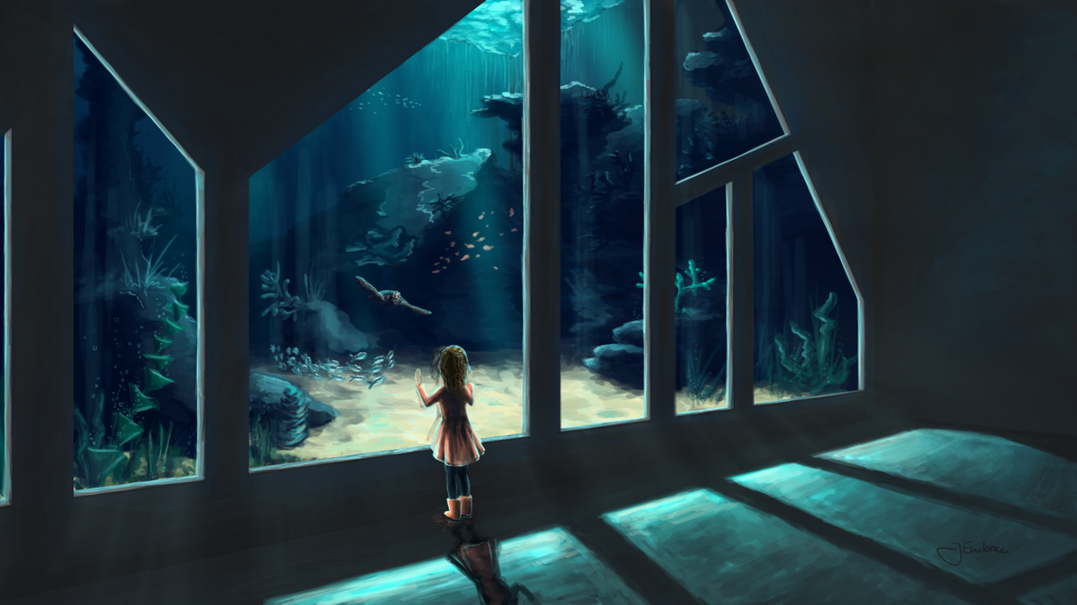 Aquarium by JEnilorac