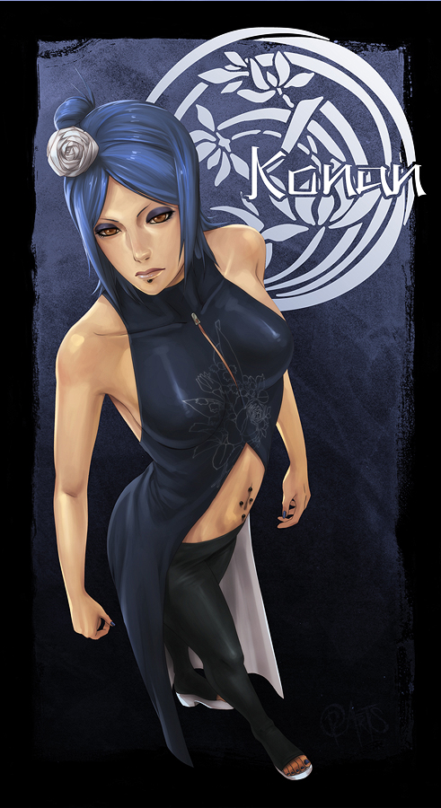 Konan Uncloaked by Roggles