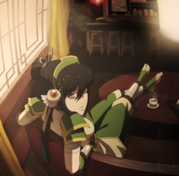 Toph's Tea Time by Roggles