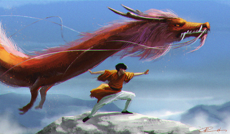 Zuko - Dragon Dance by Roggles