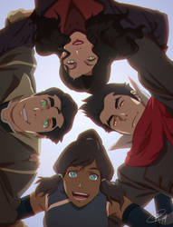 Team Avatar by Roggles