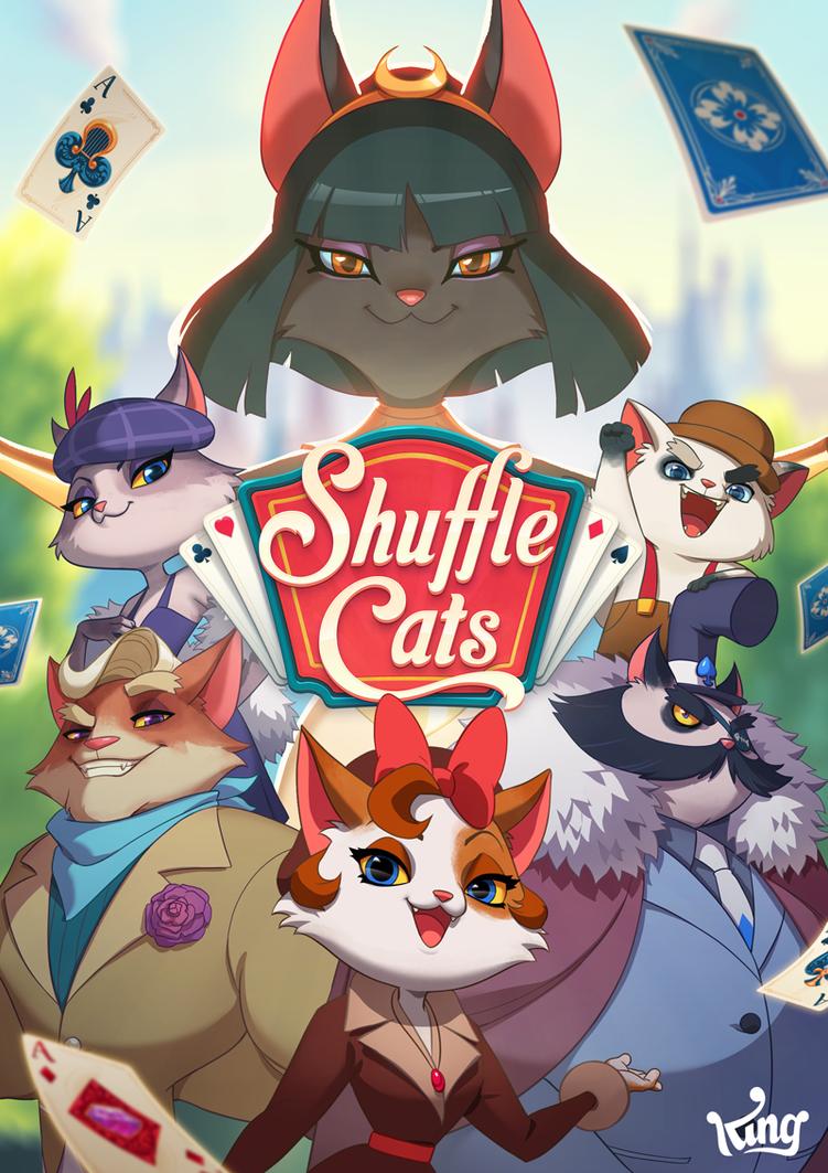Shuffle Cats by Roggles