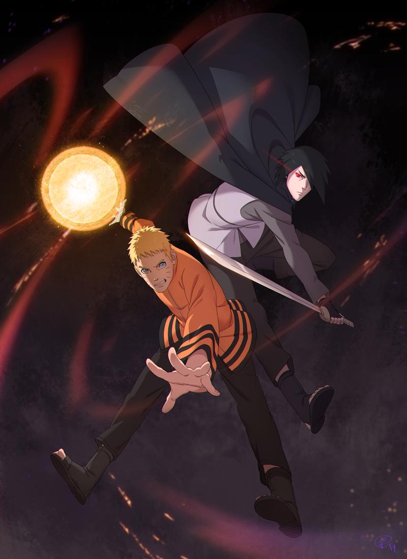 Naruto - Tribute by Roggles
