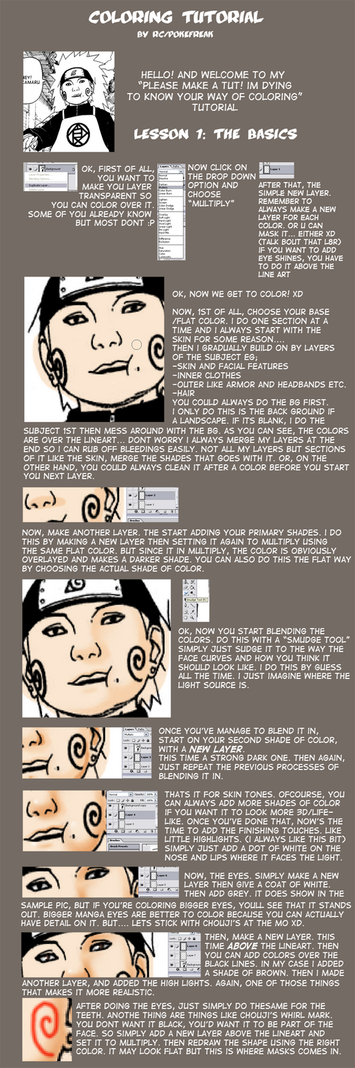 Coloring Tutorial : Part 1 by Roggles