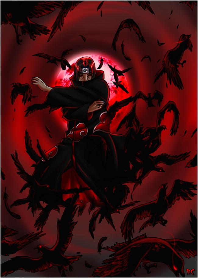 Flock of Crows - Itachi by Roggles on DeviantArt
