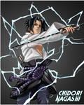 Sasuke - Chidori Discharge