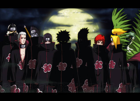 Akatsuki Organization by Roggles