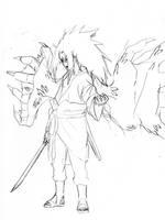 CS2 Sasuke sketch by Roggles