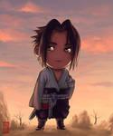 Chibi Commission - Sasuke by Roggles