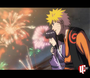 NaruHina - Fireworks