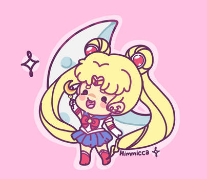 Sailor Moon by himmicca