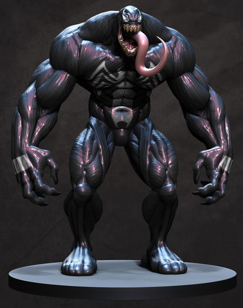 Venom Render by sankart