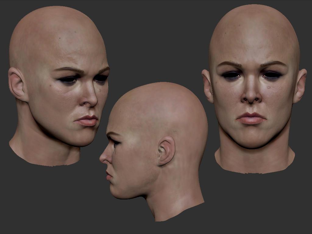 Ronda head sculpt by sankart