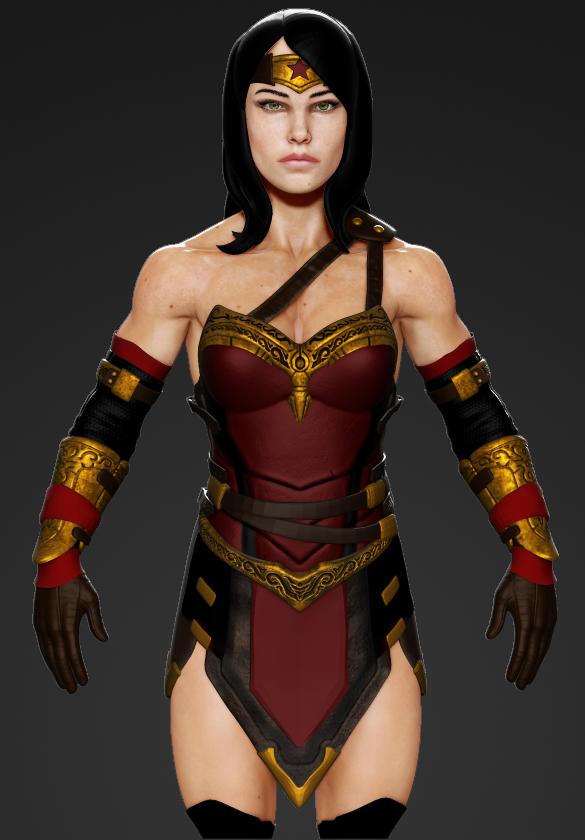 Wonder Woman 1 by sankart