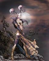 Sorceress by fuchsiart