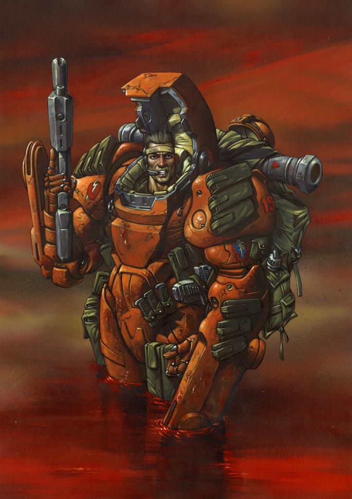 Mars trooper by fuchsiart