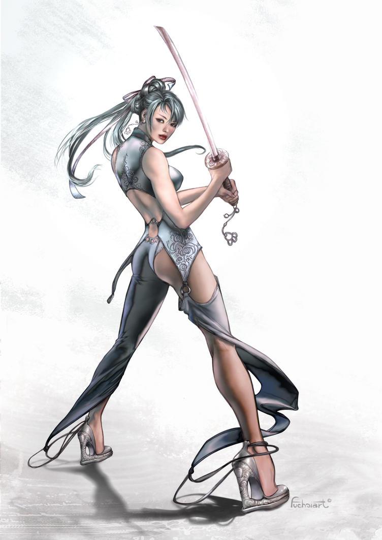 Meng-Die by fuchsiart