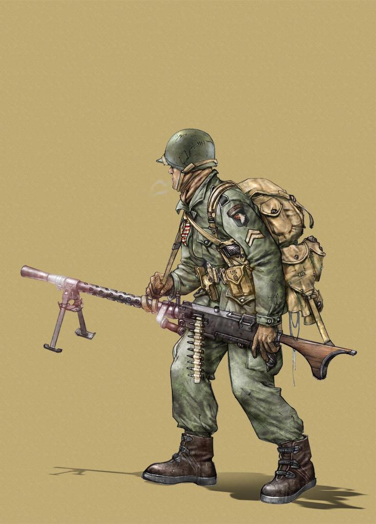 US-M1919-A6 by fuchsiart