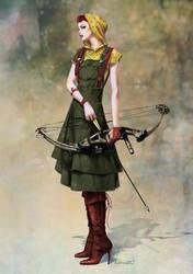 Fashion Huntress by fuchsiart