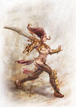 Barbarian Lady - A