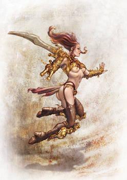 Barbarian Lady - B