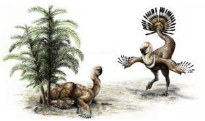Oviraptorosaur Tails