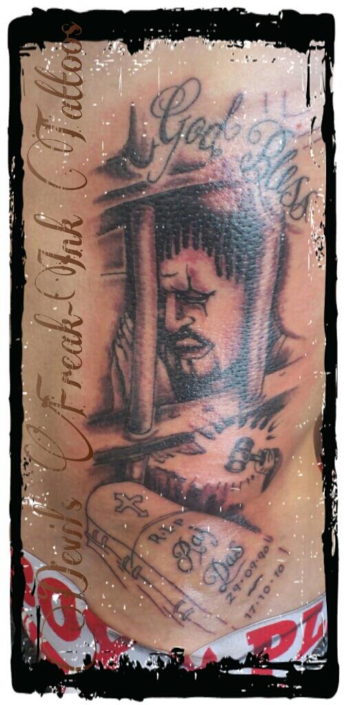 prisoner behind bars tattoo by tinytcustomdesign on deviantart. Black Bedroom Furniture Sets. Home Design Ideas