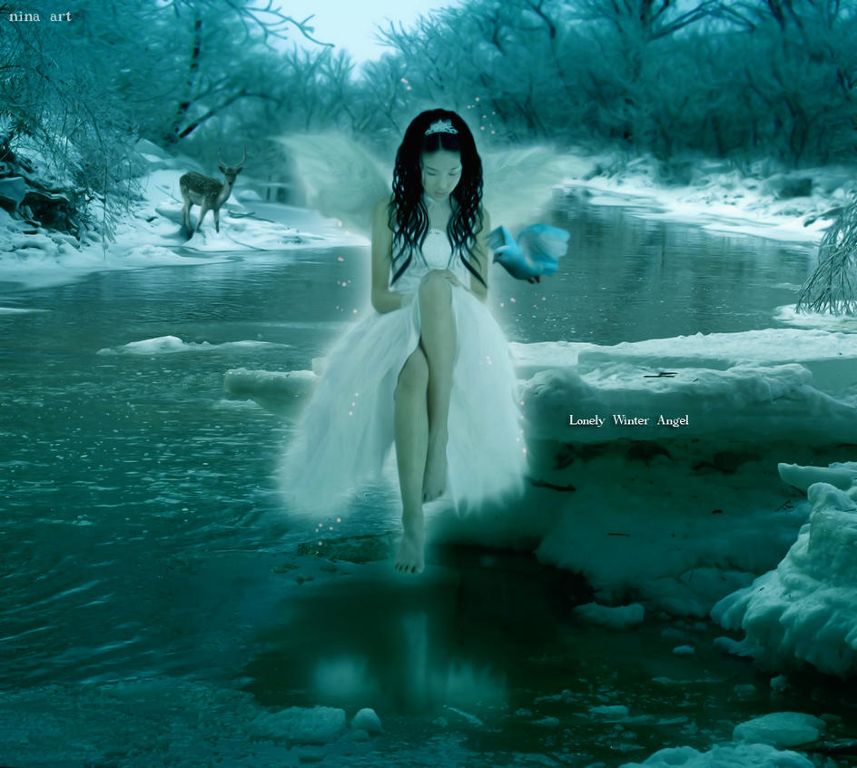 Anime Lonely Winter Lonely Winter Angel by flina