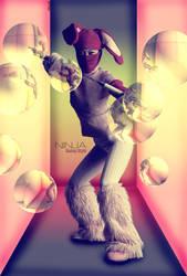 Ninja Bunny Style by flina