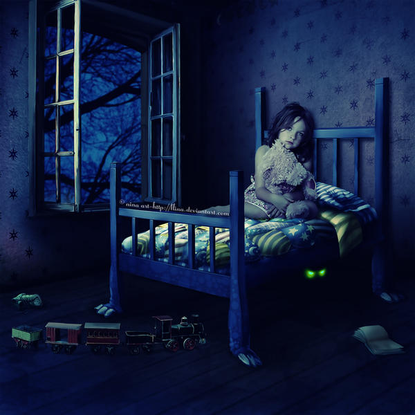 The Sims 4: Playing with the Monsters Under the Bed
