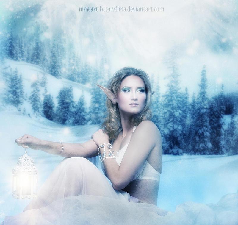 Winter Elf by flina