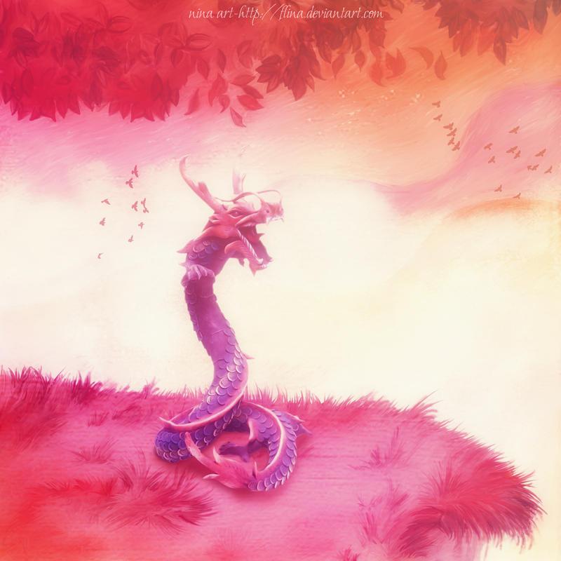 Dragon by flina