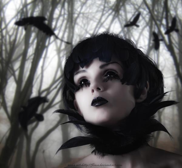Raven by flina