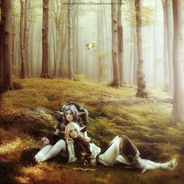 Elves by flina