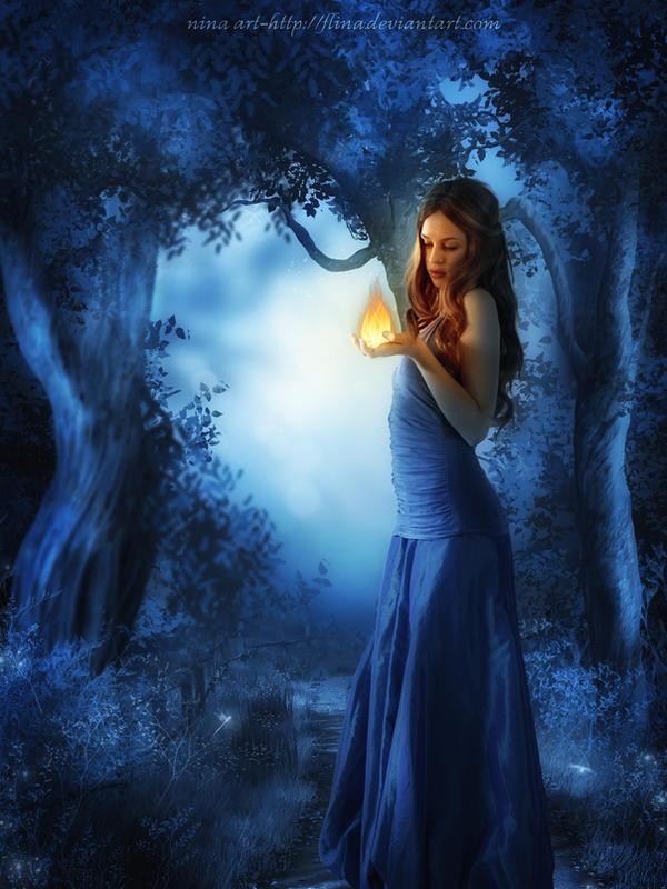 My Light by flina