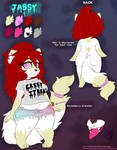 Reference sheet (commission)
