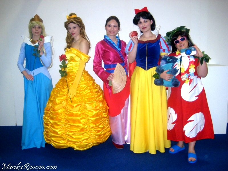 Quality Disney princess group