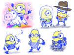 Sketch - Lil' Minions