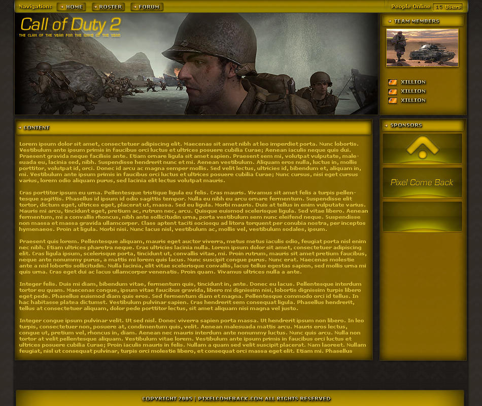 COD 2 by xillion25