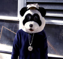 Chav Panda by NickDoleMailBox