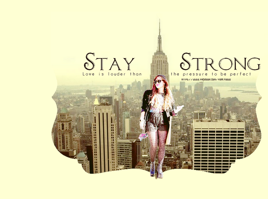 Demi lovato stay strong by forr yoouu on deviantart demi lovato stay strong by forr yoouu voltagebd
