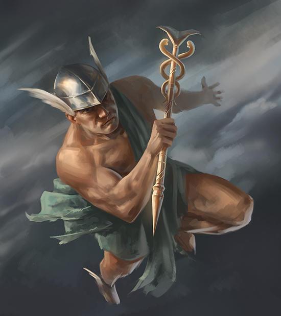 древнегреческий бог гермес картинки увидеть
