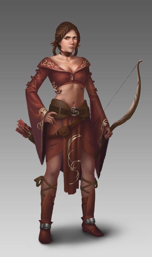 Miss Archer by NathanParkArt