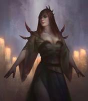 Dark Witch by NathanParkArt