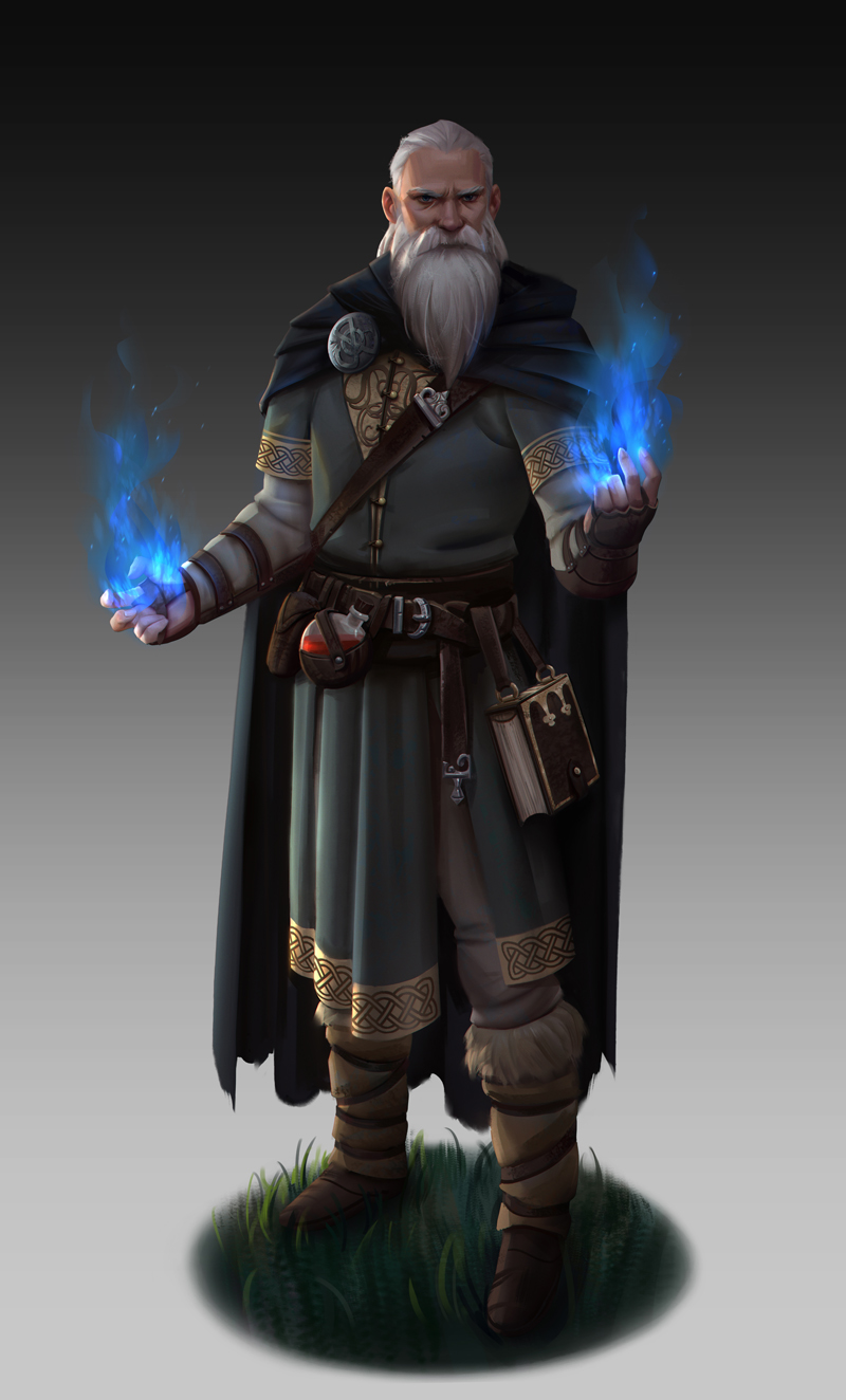 Mage by NathanParkArt