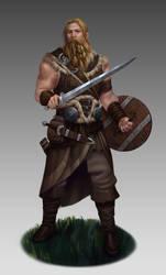 Warrior by NathanParkArt