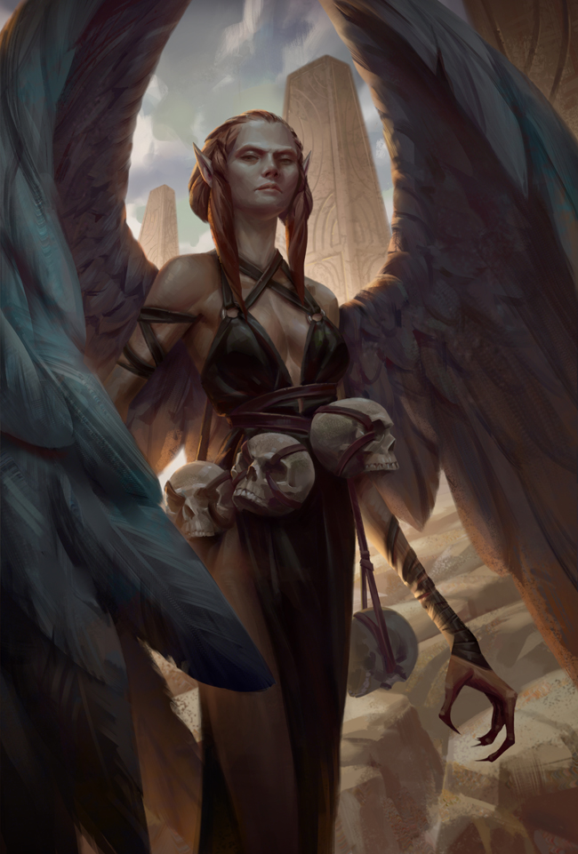 Harpy by NathanParkArt