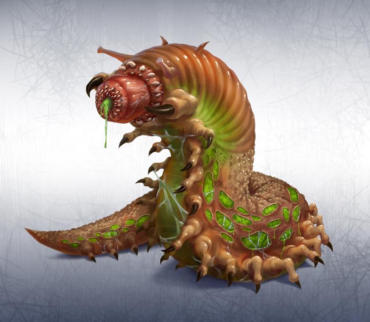 Dorian Slime Monster by NathanParkArt