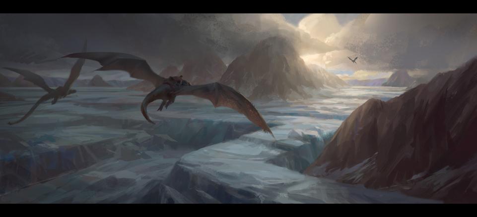 Dreams 02 - Dragon Ride by NathanParkArt