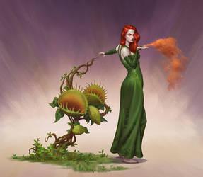 Batman 1940 - Poison Ivy
